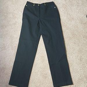 St John Black pants size 4